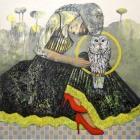 NA09. Nabeel Alsamman. 100x100 cm. Mixed media