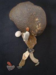 NAB02 Nizar Ali Badr Stones on Paper-Photograph