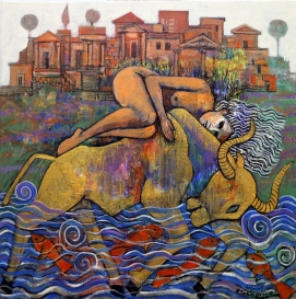 NS005 Nabeel AlSamman 60x60 cm Acrylic on Canvas