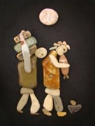 NAB05 Nizar Ali Badr Stones on Paper-Photograph