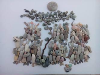 NAB07 Nizar Ali Badr Stones on Paper-Photograph
