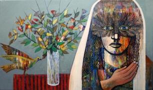 NS011 Nabeel AlSamman 100x60 cm Acrylic on Canvas