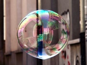 KY004 Khaled Youssef Make Bubbles not War Photograph
