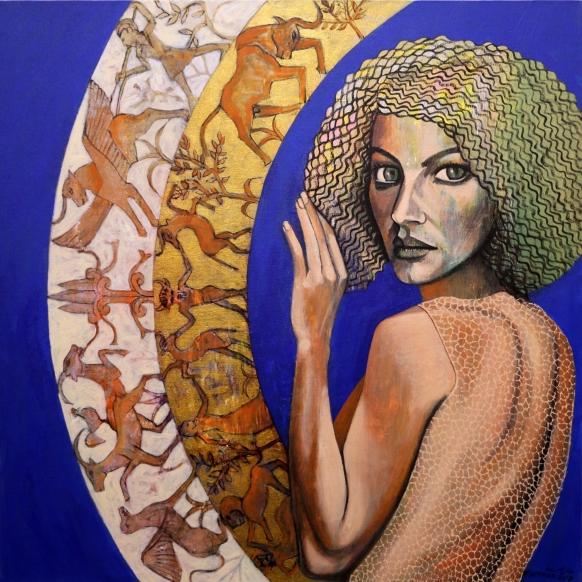 NS010 Nabeel AlSamman 100x100 cm Acrylic on Canvas