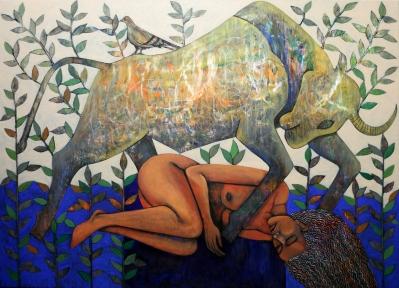 NS009 Nabeel AlSamman 180x130 cm Acrylic on Canvas
