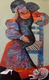 NS003 Nabeel AlSamman 100x60 cm Acrylic on Canvas